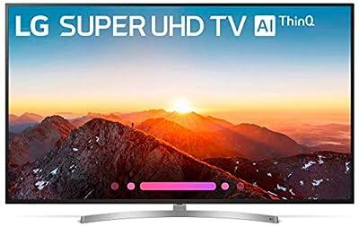 LG 75SK8070PUA 75-Inch 4K Ultra HD Smart LED TV - 2018 Model (Renewed)