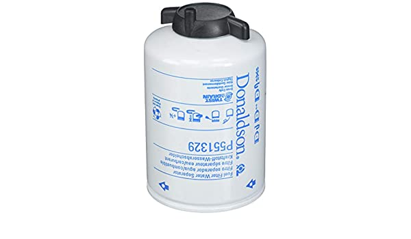 Water Separator Spin-On Twist/&Drain Donaldson P551329 Fuel Filter