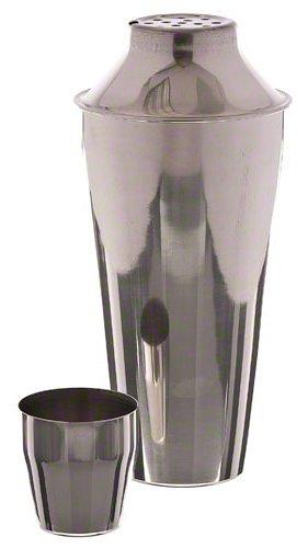 Update International (BSH-3P) 28 oz 3-Piece Stainless Steel Bar Shaker