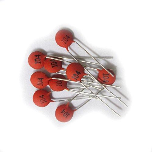 Condensateur Service Pcs 0 100nf Céramique104 Durable 1uf 100 MUzpVS