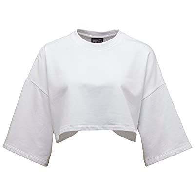 Puma x Fenty By Rihanna Women Cropped Neck Tee (white)