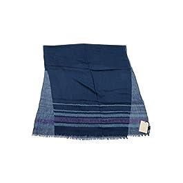 Bvlgari Blue 49% Cachemire 39% Silk 12% Linen Scarf