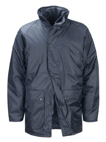 Black Knight Weather Beater JKWB Jacke gesteppt mit versteckter Kapuze, Gr. XL, Navy-Blau