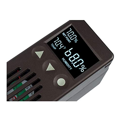 Cigar Oasis Plus 3.0 Electronic Cigar Humidifier with Digital Analog Hygrometer Bundle by Cigar Oasis (Image #3)