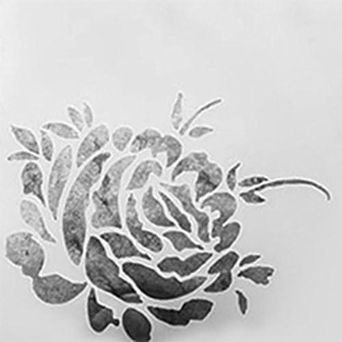 hestio flor spray refugio corte muere Plantillas para DIY Scrapbooking de felicitación plantilla Embossing Decoración Craft: Amazon.es: Juguetes y juegos