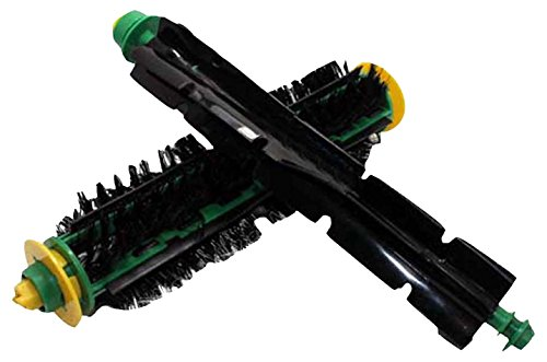 High Quality Bristle & Beater Brush Combo Pack Designed To Fit iRobot Roomba 500, 600 Series; Compare To Bristle Brush part # 81701 & Beater Brush part # 82301; Designed & Engineered By Crucial Vacuum