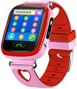 Kid Phone Smart Watch,Tonsee Positioning Kids Safe Inteligent Watch,GPS Tracker Anti-Lost Camera SOS ClockDS Toy for Boys Girls 3~12 Years Old
