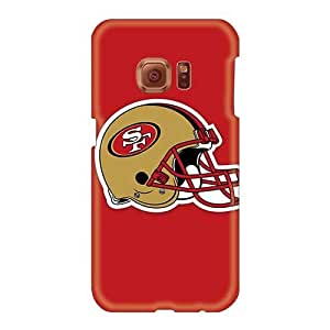 Perfect Hard Phone Cases For Samsung Galaxy S6 (Duz21143xTuT) Allow Personal Design High Resolution San Francisco 49ers Helmet Skin