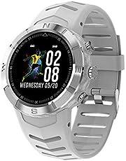QXYOUNGB Smart Watch heren 1,3 inch IP67 waterdicht sport smartwatch activiteitstracker Passometer Smart Watch voor iOS Andriod stappenteller stopwatch