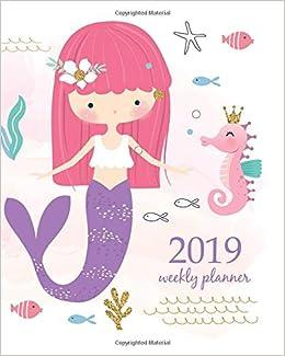 2019 Weekly Planner: Calendar Schedule Organizer and Journal ...