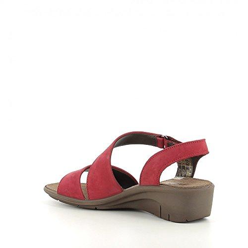 003 Rojo mujer de de sandalias Imac para 1091821 Las moda EzBqwxRx8