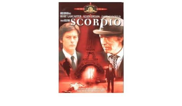 Scorpio [Francia] [DVD]: Amazon.es: Burt Lancaster, Alain Delon, Paul Scofield, Michael Winner: Cine y Series TV
