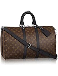 Authentic Louis Vuitton Keepall 45 Bandoulière Handbag Article: M56711