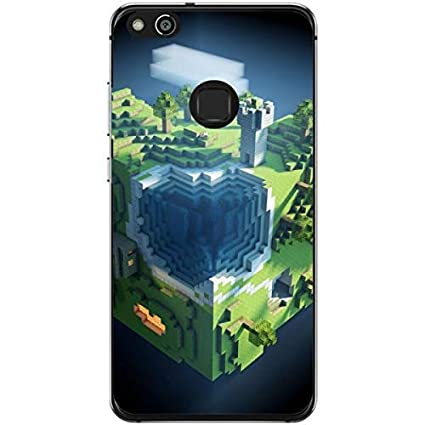 Amazon.com: Silicone Case for Minecraft Planet Huawei P10 ...