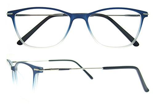 edcb521aca Eyewear Frames-OCCI CHIARI-Rectangle Lightweight Non-Prescription  Eyeglasses Frame with Clear Lenses For Womens 52mm - Buy Online in Oman.