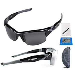 Elite Polarized Sunglasses Sport Style Unbreakable UV FDA Certified Safe-WINTER MEGA DEAL
