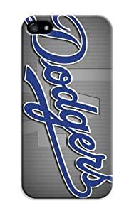 LarryToliver Retro Customizable Baseball Los Angeles Dodgers For iphone 5/5s Case Cover Dual Cases