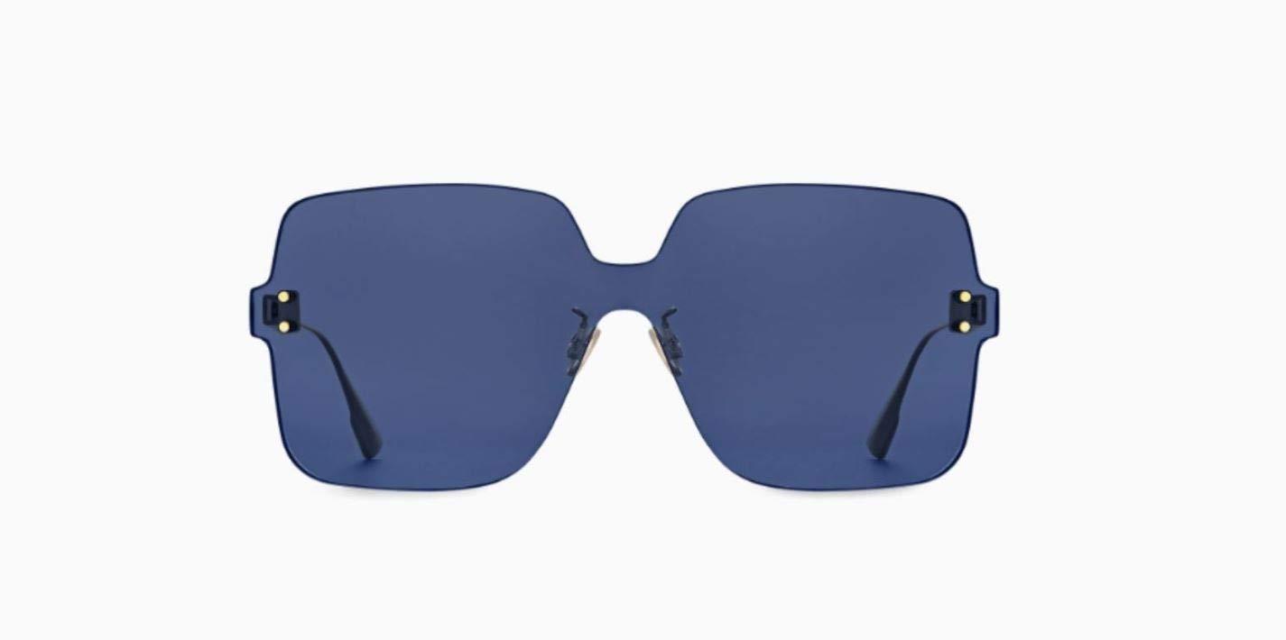 1ac8ae6743aa6 Amazon.com  Dior Authentic Christian Color Quake 1 PJPKU Gold Blue  Sunglasses  Home   Kitchen