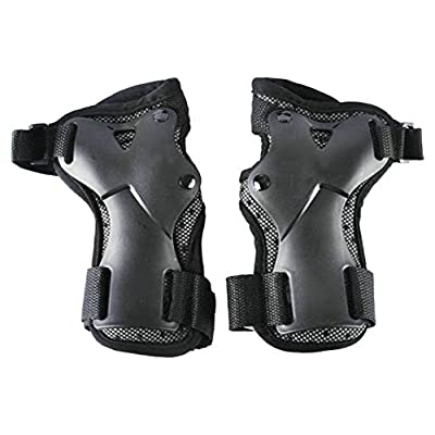 Ffox Protective Gears Skating Skateboard Speed Roller Sports Knee Pads Wristband Elbow Protective Gear: Clothing