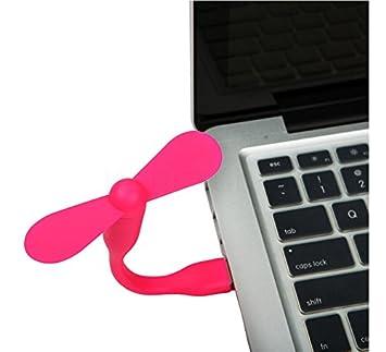 USB Mini ventilador, dmyco Cute Flexible Mini USB ventilador portátil pequeño ventilador extraíble baja potencia