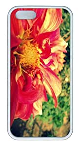 iPhone 5S Customized Unique Landscape Flowers Flower 100 New Fashion TPU White iPhone 5/5S Cases by lolosakes