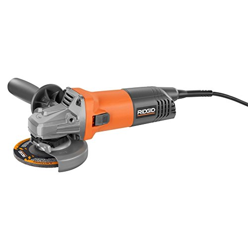 Ridgid R1006 8-Amp 4-1/2 in. Angle Grinder Review