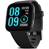 FITVII Smart Watch, Fitness Tracker with Heart Rate Monitor, IP68 Waterproof Smartwatch with Blood Pressure Sleep…