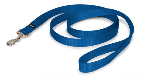 "PetSafe Nylon Leash, 1"" x 6', Royal Blue"