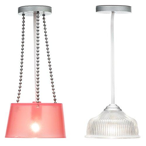 Lundby Smaland Dollhouse 2 Ceiling Lamps Set