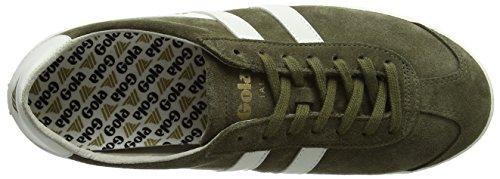 White Verde Specialist Uomo Khaki Off Sneaker Gola Light x0RaqCaw