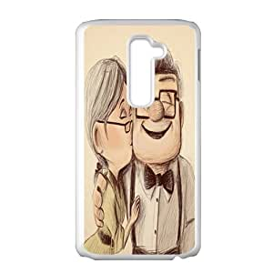 Warm-Dog Carl and Ellie Cell Phone Case for LG G2