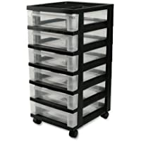 IRIS 6-Drawer Storage Cart