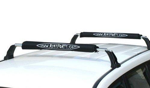 Ruk Roof Bar Fitting Canoe or Kayak 2 Pads