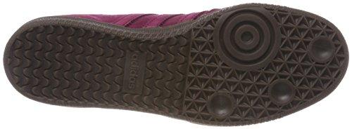 adidas Samba Fb, Sneaker Uomo Rosso (Rubmis / Rubmis / Dormet 000)