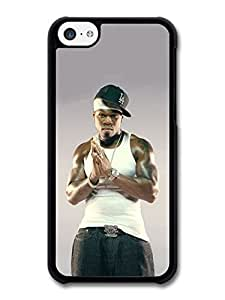 Lmf DIY phone caseAMAF ? Accessories 50 Cent Praying with Hat and White Tank case for iphone 5/5sLmf DIY phone case