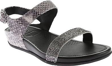 9969b6dff FitFlop Women s Banda Crystal IMI-Snake Sandal