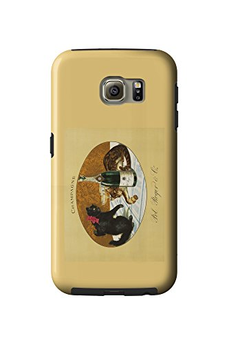 champagne-pol-roger-c-1921-vintage-poster-galaxy-s6-cell-phone-case-tough