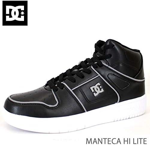 DC SHOE(ディーシーシュー) DC スニーカー メンズ MANTECA HI LITE/BKW BLACK-WHITE DM196601 ディーシーシュー,DC shoes スニーカー【C1】