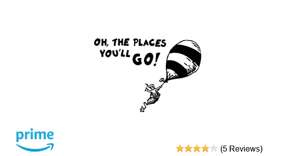 Seuss Cat in The Hat Sticker laptop wall car phone Kids Child Dr