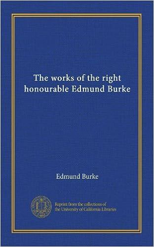 Téléchargements ebook pdfs gratuits The works of the right honourable Edmund Burke (v.1) PDF