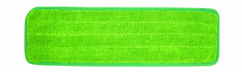 Wilen C108020, Super Pro II Microfiber Mop Refill, 20'' Length x 5'' Width, Green (Case of 10) by Wilen Professional Cleaning Products