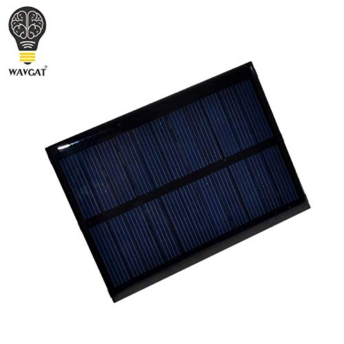 Solar Panel 0.5W 5V Portable Module DIY Small Solar Panel for Cellular Phone Charger Home Light Toy etc Solar Cell by Wolfrule (Image #4)