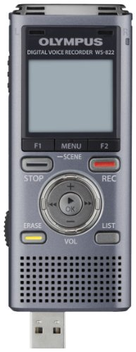 Olympus WS-822 GMT Voice Recorders with 4 GB Built-in-Memory by Olympus (Image #1)
