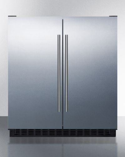 Black Frost Free Freezer (Summit FFRF3070BSS 30