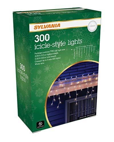 SYLVANIA Icicle Christmas Lights