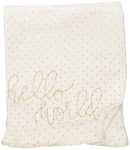 Mud Pie Newborn Blankets (Mud Pie Baby Girls' Nursery Blanket, Glitter, One Size)