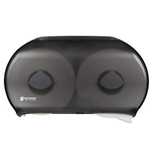 San Jamar R4000TBK Toilet Tissue Dispenser - Holds (2) 9