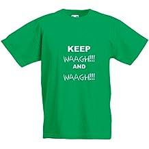 Keep Waagh and Waagh!, Kids Printed T-Shirt