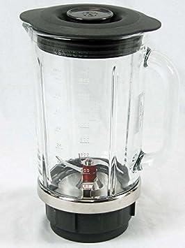 Kenwood - Jarra de cristal con hojas y tapa para batidora Blend-X BLM80 y BLM800: Amazon.es: Hogar
