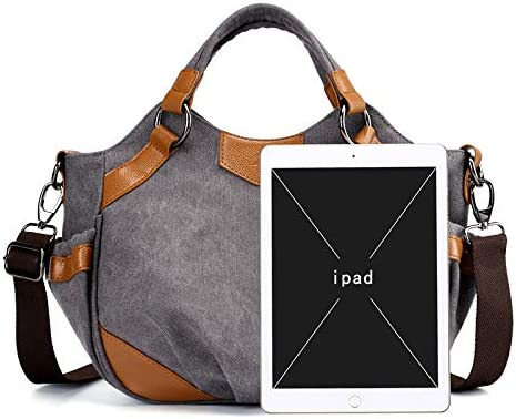 XLJJB New Canvas Bag Retro Fashion Wild Literature And Art College Borsa A Tracolla Borsa A Tracolla Borsa da Donna Borsa in Tessuto blue